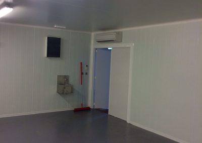 Inrichting ruimte met hygiënische isolatiepanelen