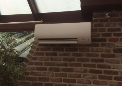 Plaatsing airco particuliere woning