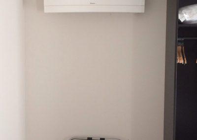 Plaatsing airconditioning