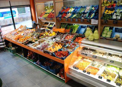 Friegel - realisatie - inrichting kruidenierswinkel - koeltoog