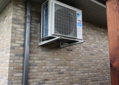 Airco voor particuliere woning Langemark - buitenunit